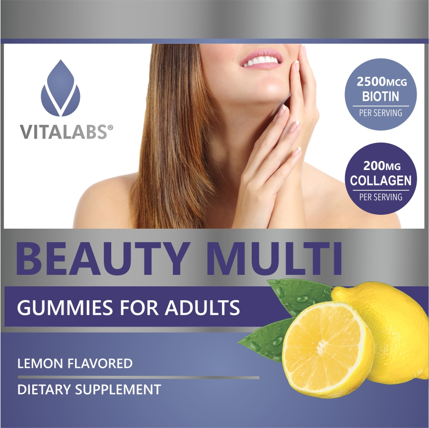 Private Label Beauty Multivitamin Gummy