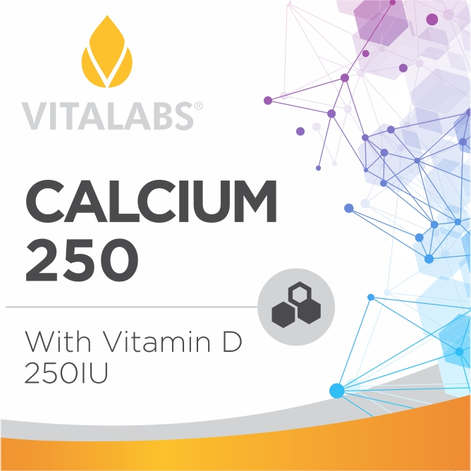 Private Label Calcium 250mg w/ Vitamin D
