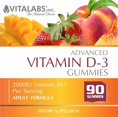 Private Label Vitamin D-3 Gummies