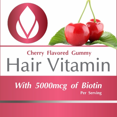Private Label Hair Vitamin Gummies