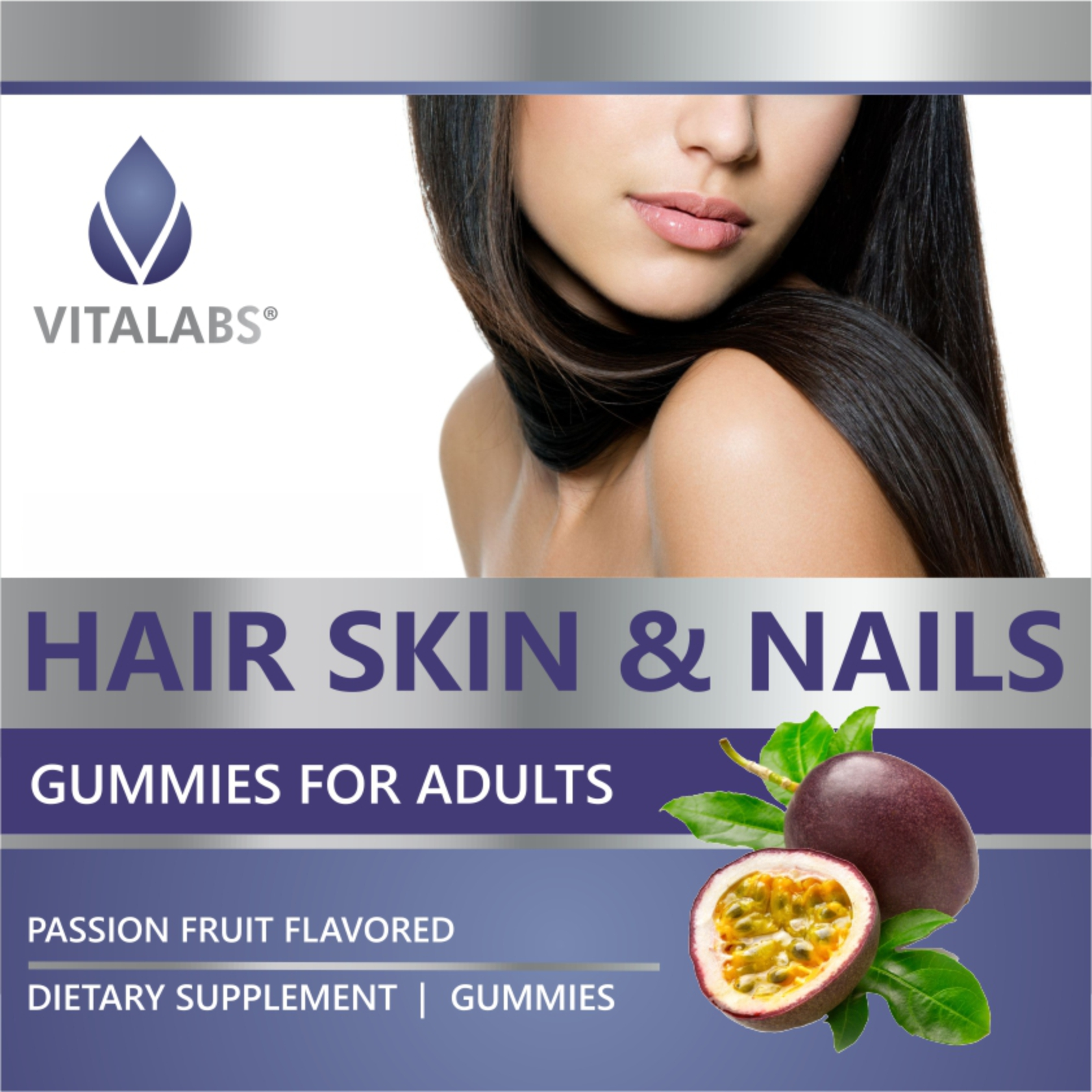 Private Label Hair, Skin & Nails Gummies