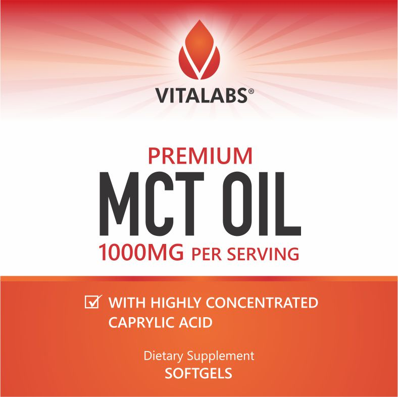 MCT Oil 1000mg Softgels