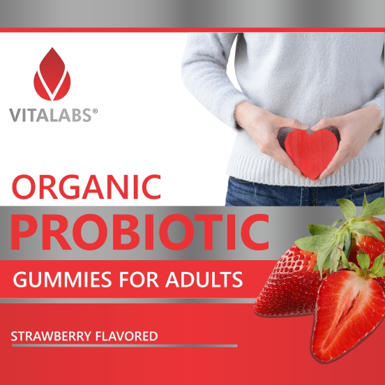 Private Label Organic Probiotic Gummies