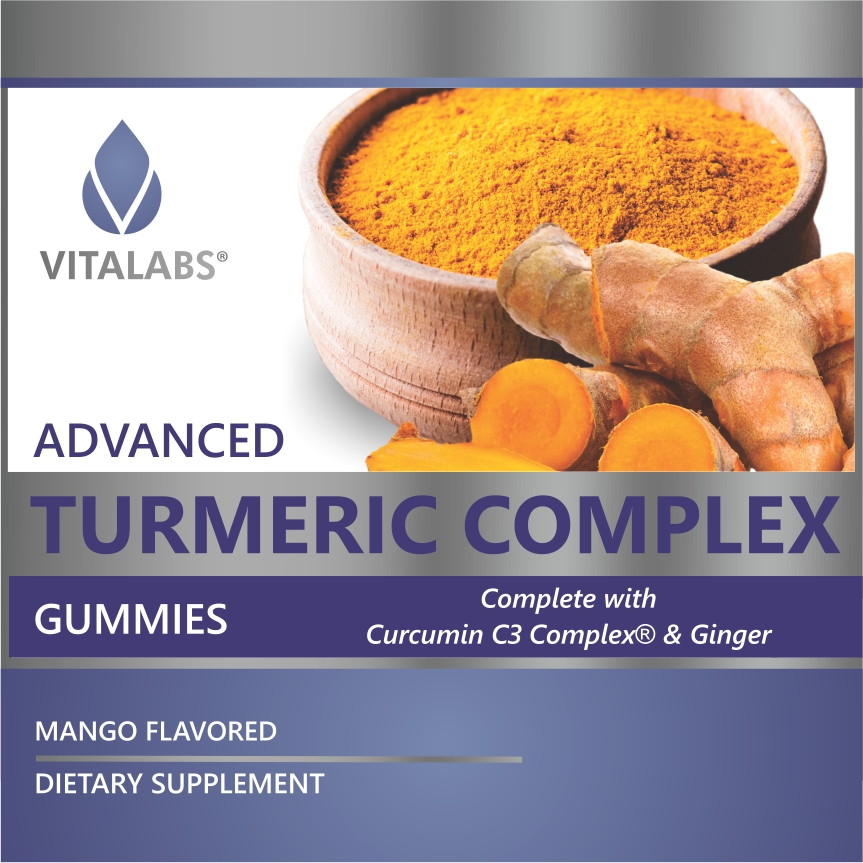 Private Label Turmeric and Ginger Gummy