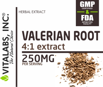 Private Label Valerian Root Extract 250mg