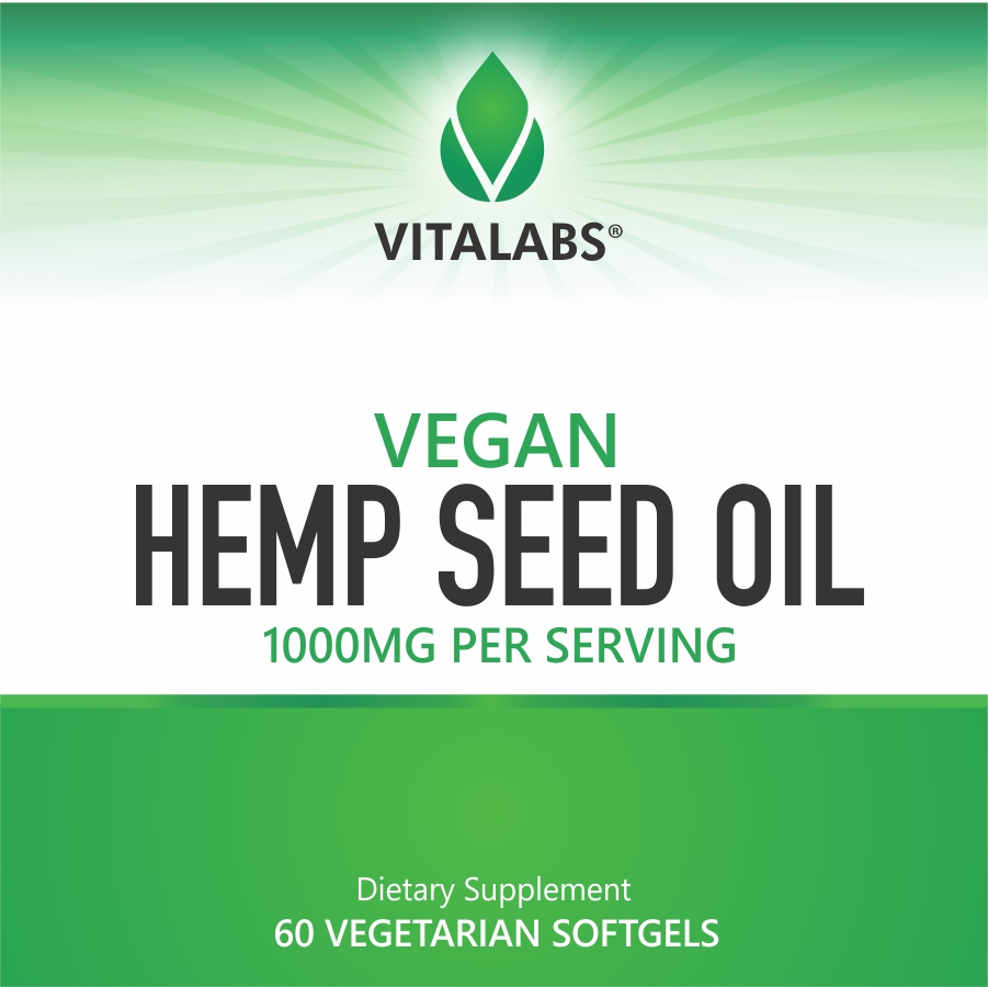 Private Label Vegan Hemp Seed Oil Softgels