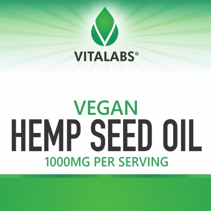 Vegan Hemp Seed Oil Softgels