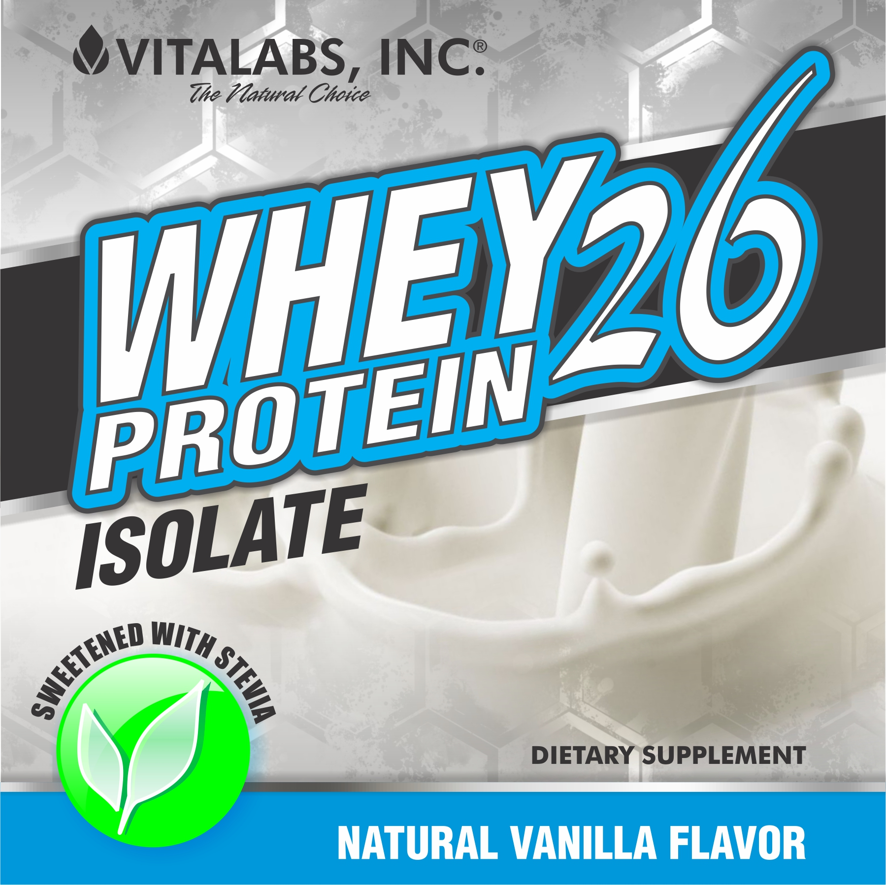 Private Label Whey-26  Vanilla