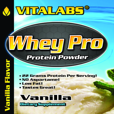 Private Label Whey Pro Protein-Vanilla